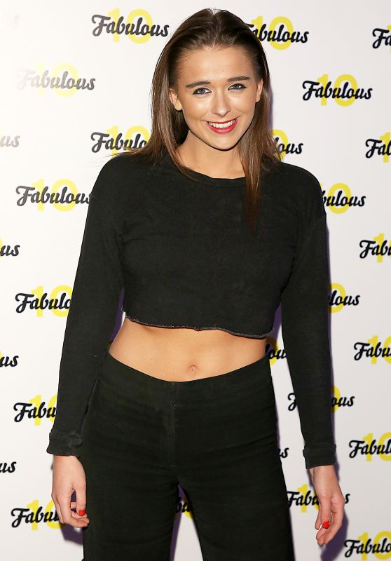 Geo Rushby – Fabulous Magazine 10th Birthday Party in London