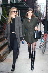 Georgia Fowler and Megan Williams - Out in Soho, NY