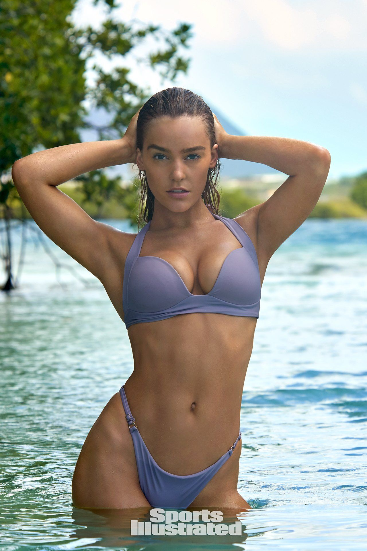 Georgia Gibbs TJ Swim Bikini Photoshoot Pic 7 of 35