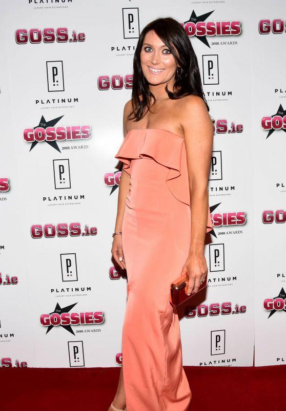 Georgina Byrne – The Gossies 2018 Awards in Dublin