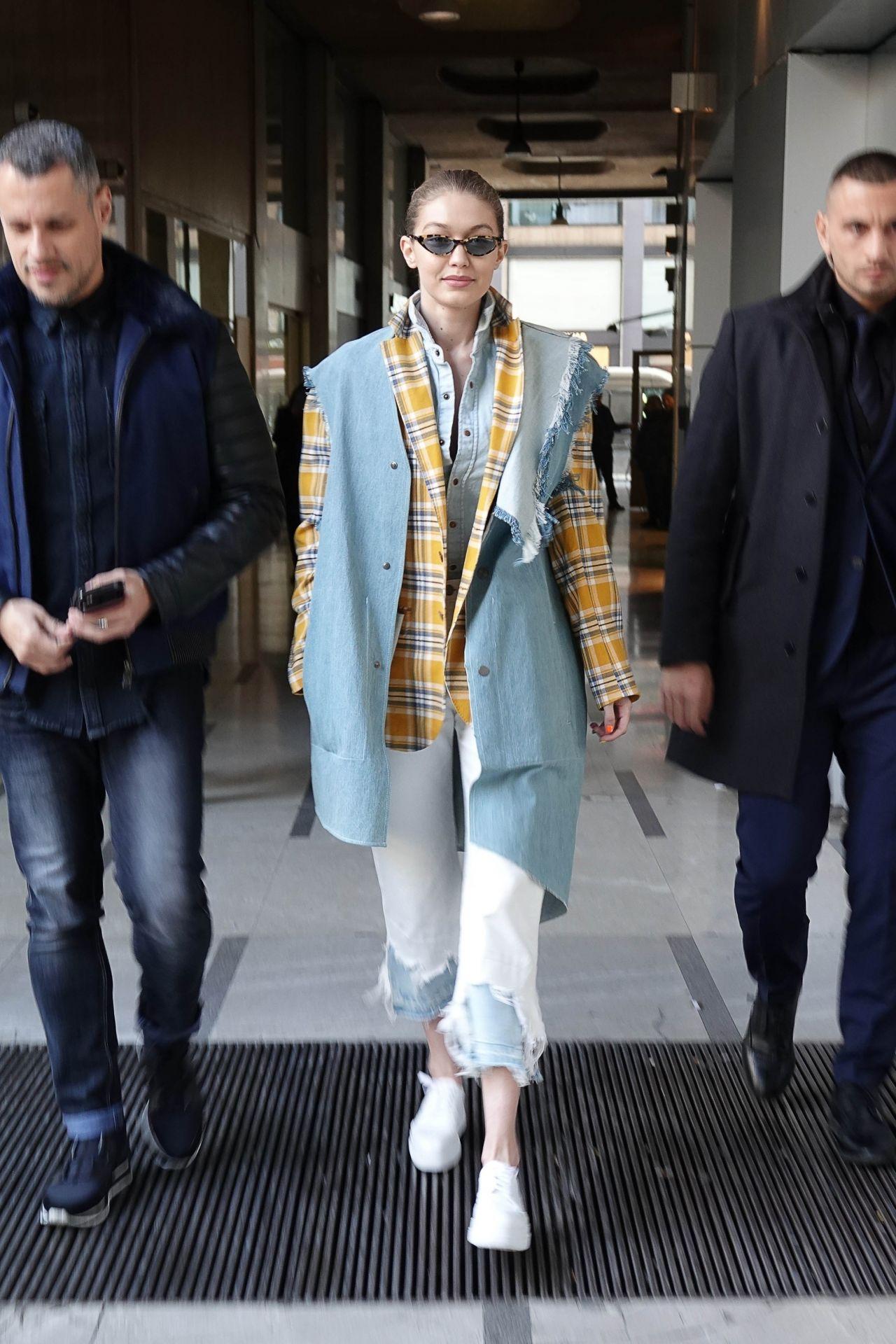 Gigi Hadid Street Fashion