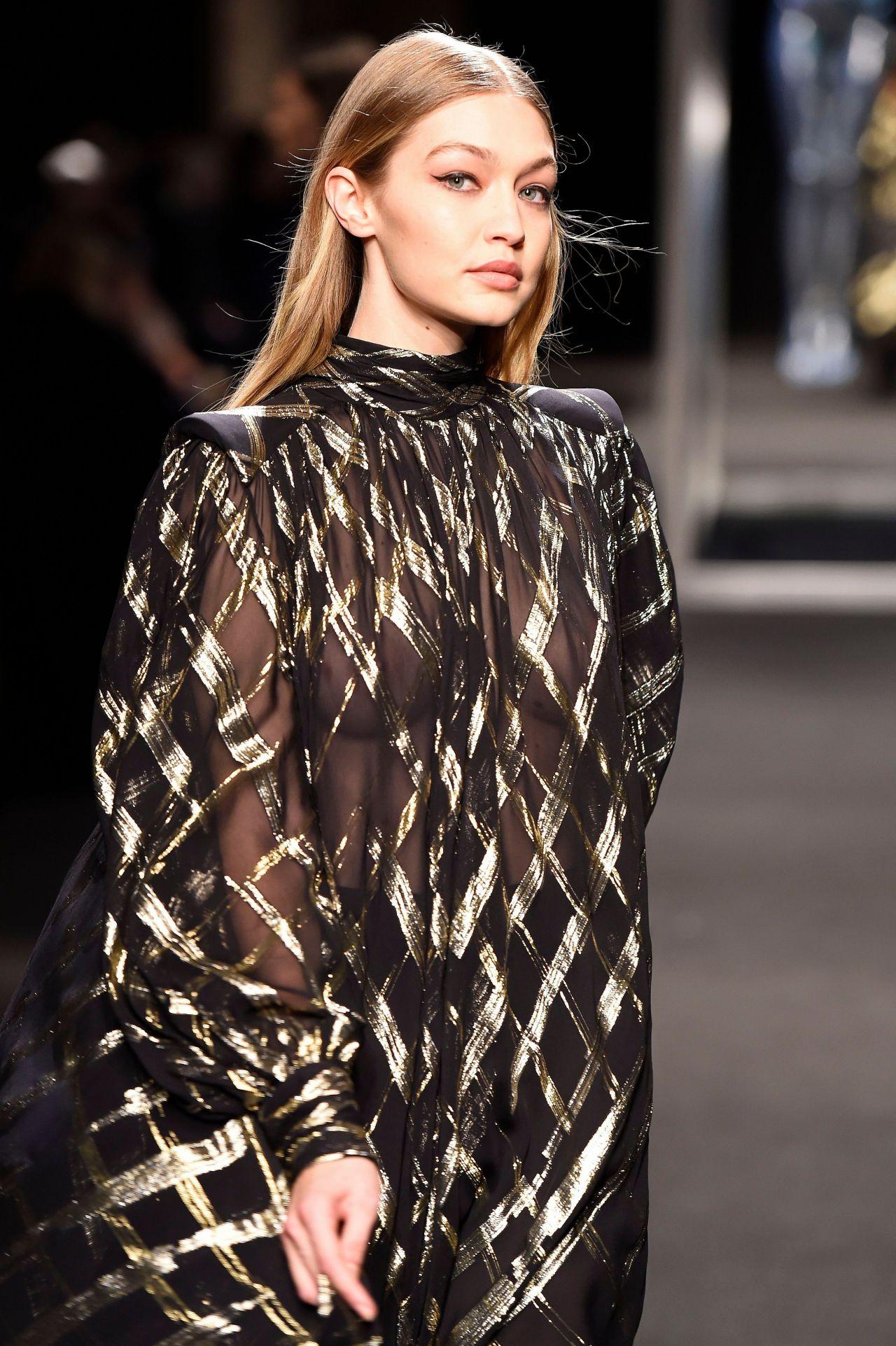 Gigi Hadid Supermodel Runway Walk