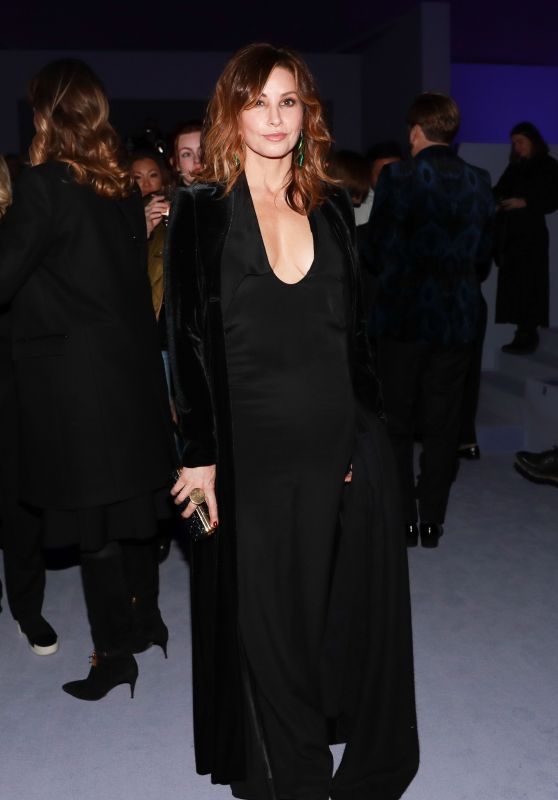 Gina Gershon - Tom Ford Fashion Show Fall Winter 2018 in NYC