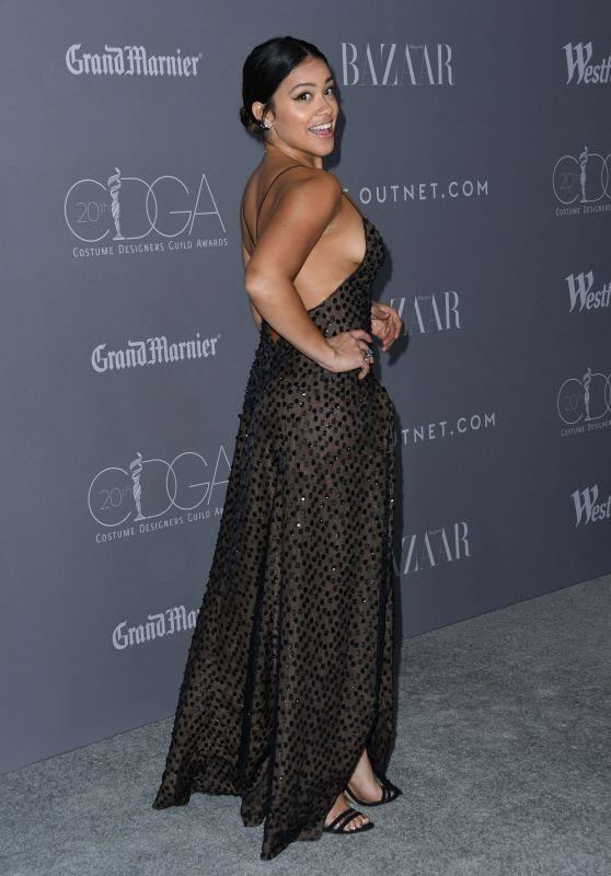 Gina Rodriguez - CDGA 2018 at the Beverly Hilton in LA