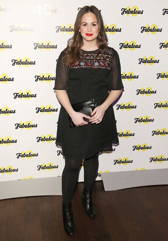 Giovanna Fletcher – Fabulous Magazine 10th Birthday Party in London