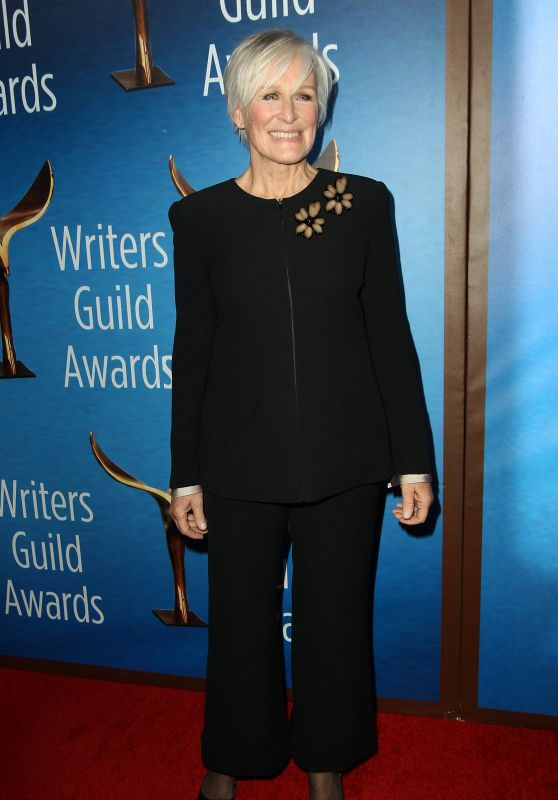 Glenn Close – Writers Guild Awards 2018 Red Carpet