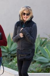 Goldie Hawn - Shops for Home Goods in Brentwood 02/24/2018