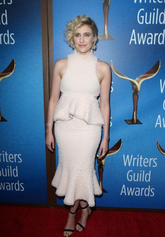 Greta Gerwig - Writers Guild Awards 2018 Red Carpet