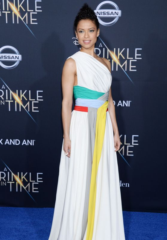 "Gugu Mbatha-Raw – ""A Wrinkle in Time"" Premiere in Los Angeles"
