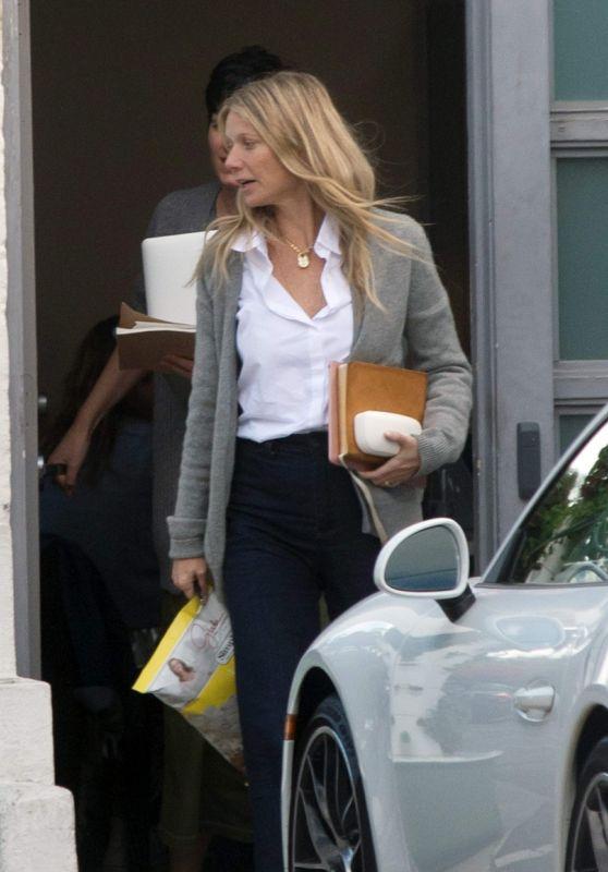 Gwyneth Paltrow - Out in Los Angeles 02/27/2018