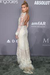 Hailey Baldwin – 2018 amfAR Gala in NYC