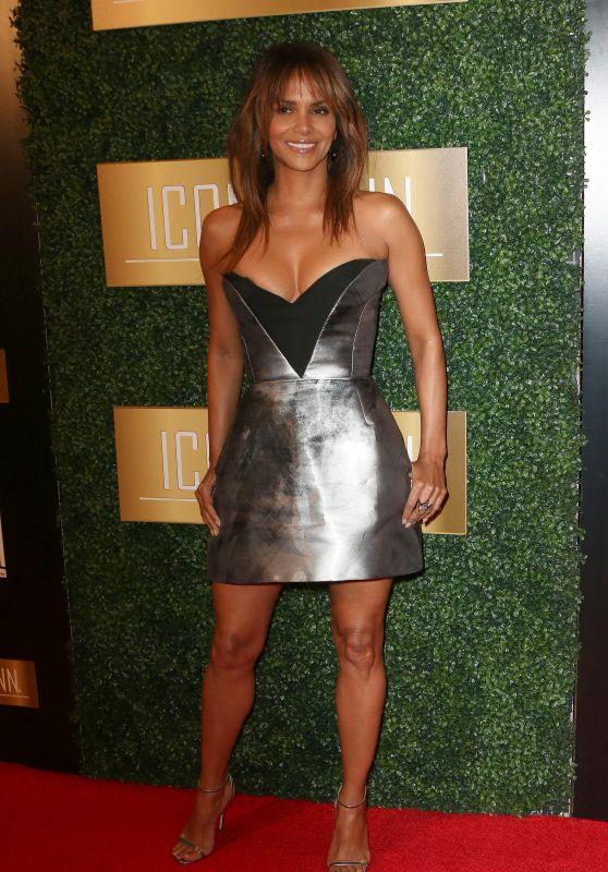 Halle Berry - 2018 ICON MANN Pre-Oscar Dinner in Beverly Hills
