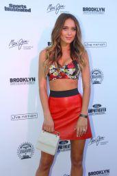 Hannah Davis - SI Swimsuit, Summer of Swim Concert in Brooklyn