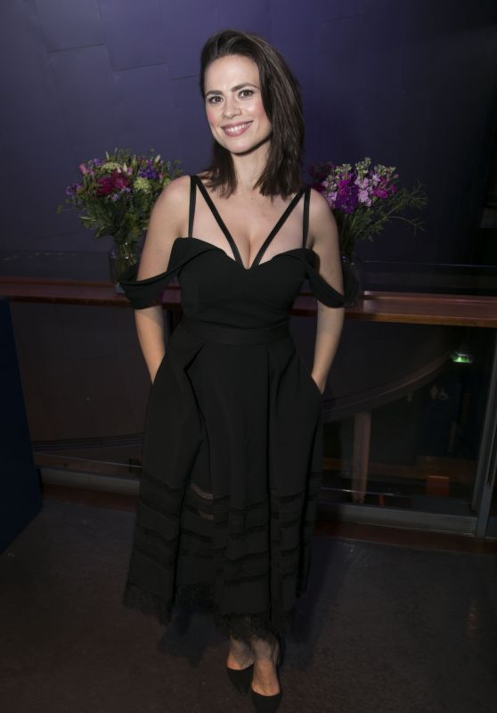 "Hayley Atwell - ""Dry Powder"" After Party in London"