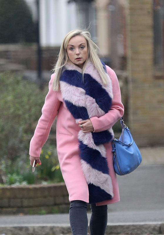 Helen George Out in London 02/23/2018