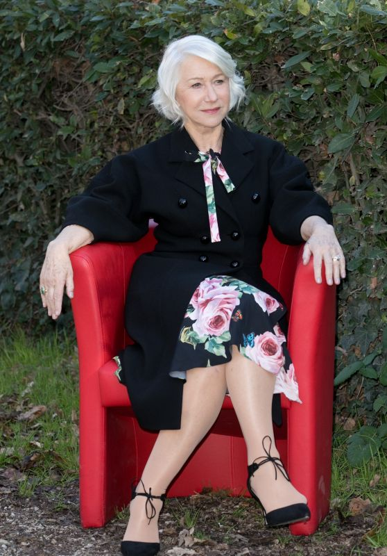 "Helen Mirren - ""Winchester"" Photocall in Rome"