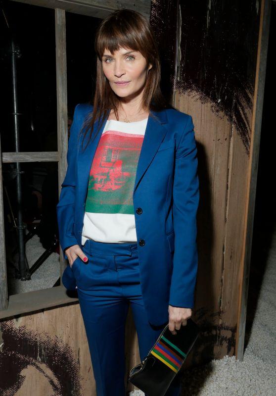 Helena Christensen – Calvin Klein Show FW18, NYFW 02/13/2018