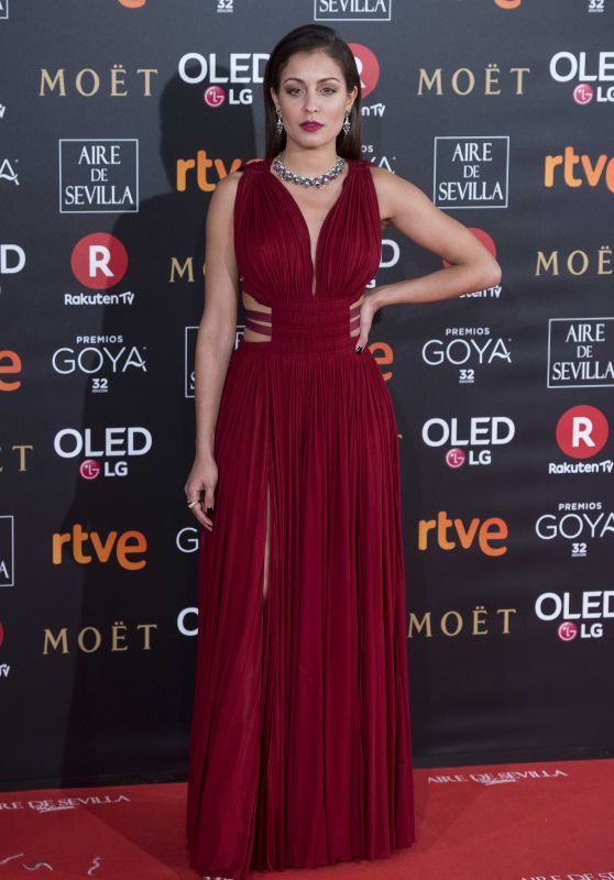 Hiba Abouk – 2018 Goya Awards in Madrid