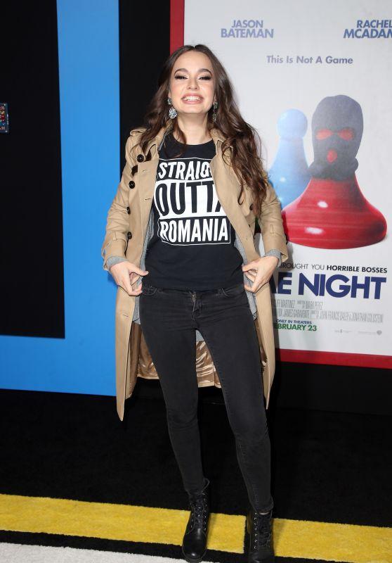 "Ingrid Bisu - ""Game Night"" Premiere in LA"