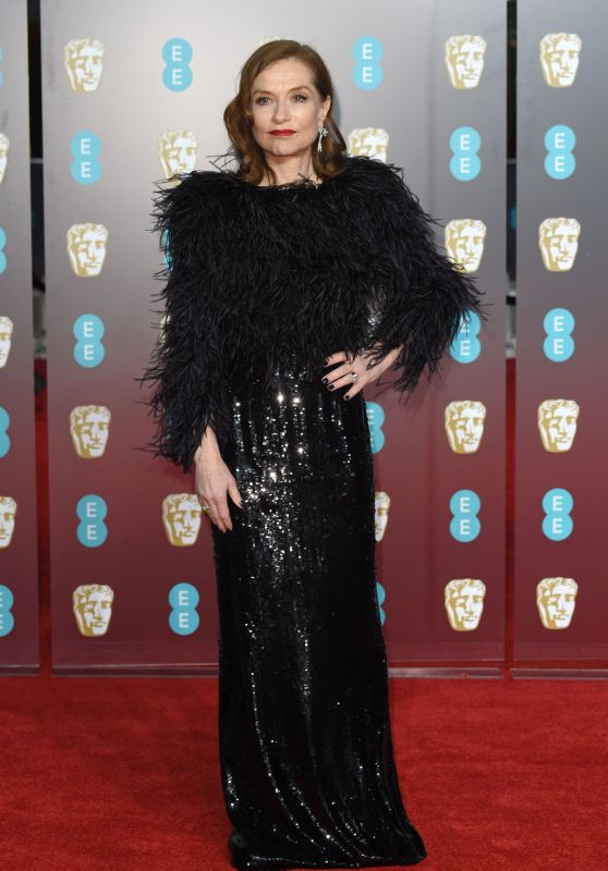 Isabelle Huppert – 2018 British Academy Film Awards