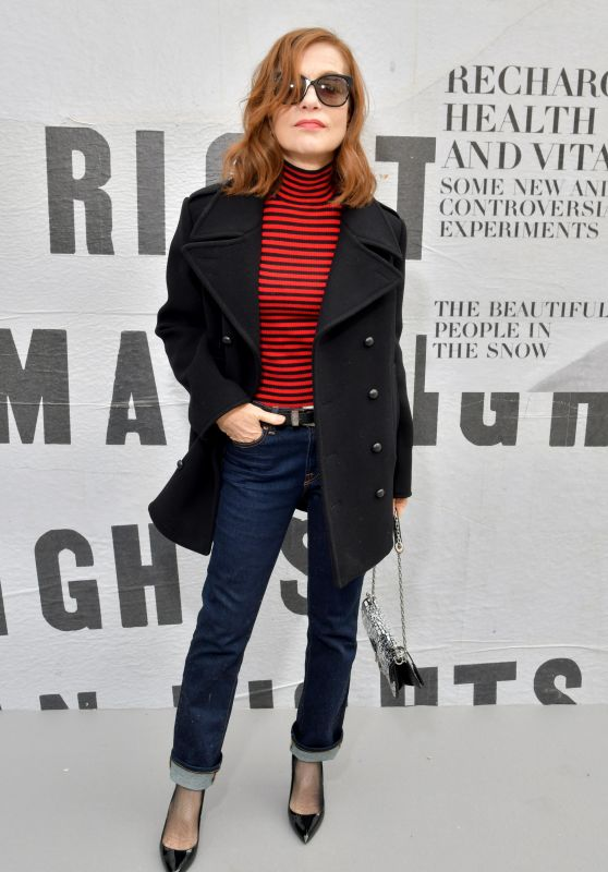 Isabelle Huppert – Christian Dior Show FW18 in Paris