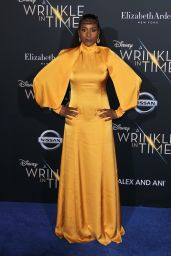 "Issa Rae – ""A Wrinkle in Time"" Premiere in Los Angeles"