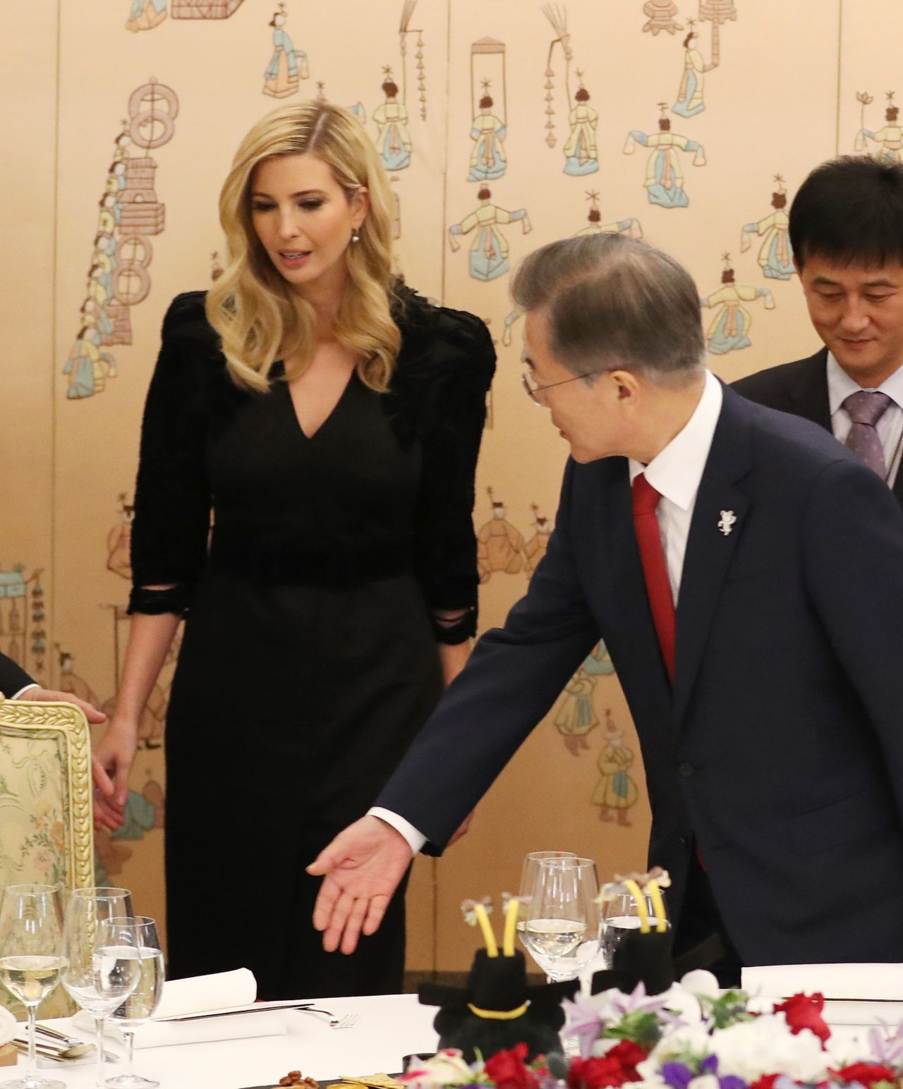 Ivanka Trump Dinner At The Presidential Office Cheong Wa