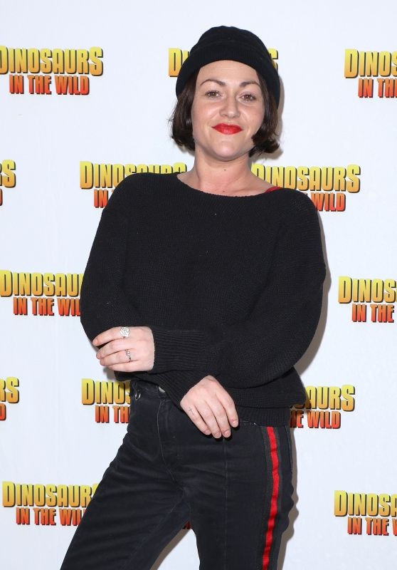 "Jaime Winstone – ""Dinosaurs in the Wild"" Exhibition in London"