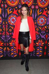 Jamie Chung – Anna Sui Show FW18 at NYFW