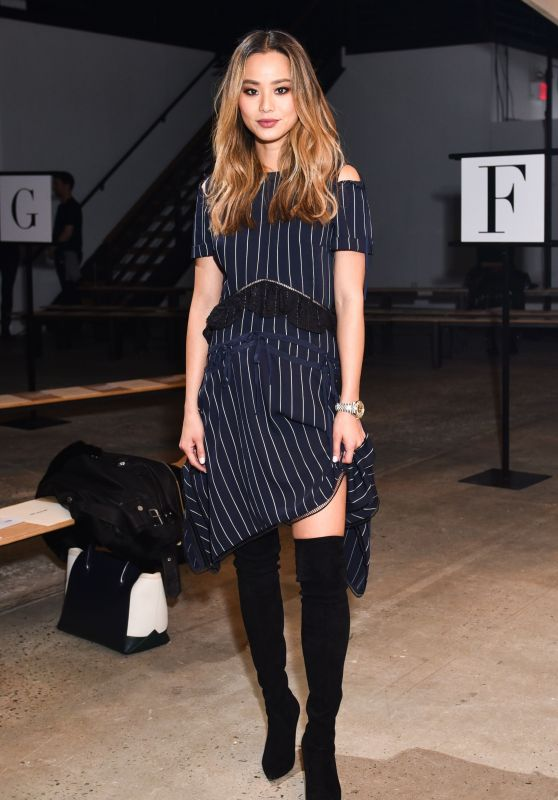 Jamie Chung - Fiji Water at Self Portrait Show FW18 at NYFW