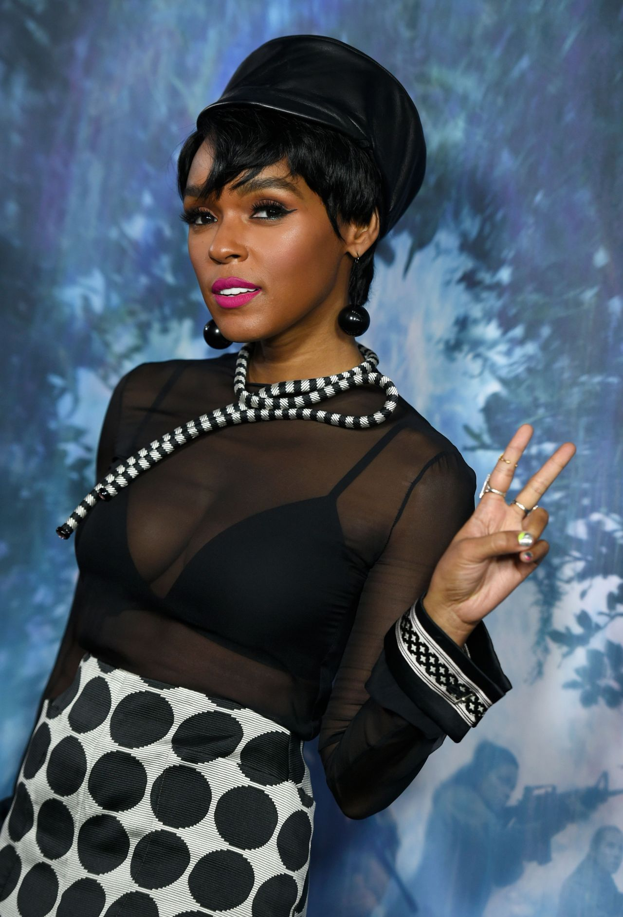 janelle monae � �annihilation� premiere in los angeles