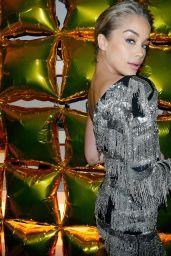 Jasmine Sanders - Bergdorf Goodman x Dundas Party FW18 at NYFW