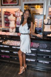 Jasmine Tookes and Lais Ribeiro - VS S**y Illusions Launch at Miami Beach