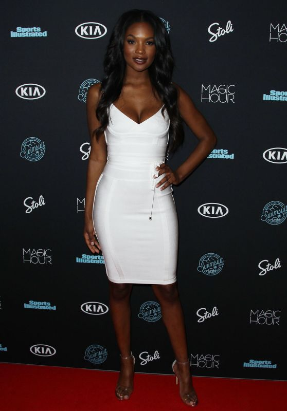 Jasmyn Wilkins – 2018 Sports Illustrated Swimsuit Issue Launch
