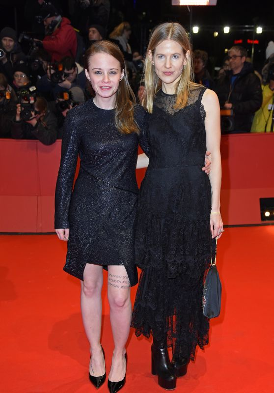 Jasna Fritzi Bauer and Aino Laberenz – 2018 Berlin International Film Festival Opening Ceremony