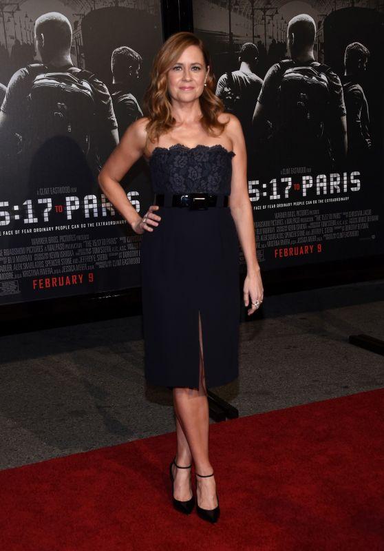 """Jenna Fischer - """"The 15:17 to Paris"""" Premiere in Burbank"""