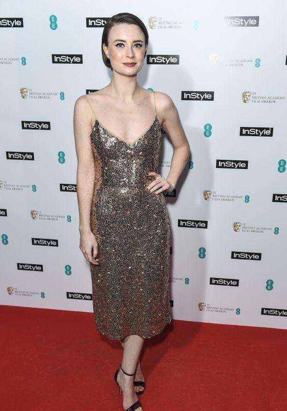 Jennifer Kirby – 2018 BAFTAs Pre Party in London