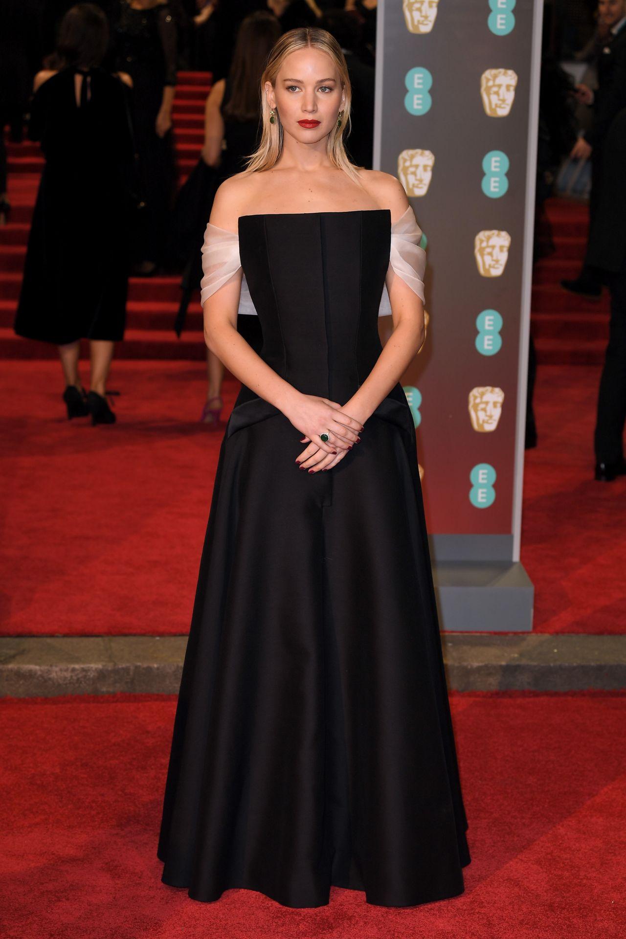 Jennifer Lawrence 2018 British Academy Film Awards