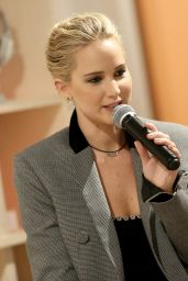 Jennifer Lawrence - 20th Century Fox x The Wing in NYC