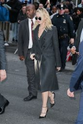 """Jennifer Lawrence - Arriving to Appear on """"The Late Show with Stephen Colbert"""" in New York 02/26/2018"""