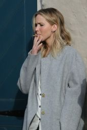 Jennifer Lawrence Puffs Hand Rolled Cigarette at Peche in New Orleans