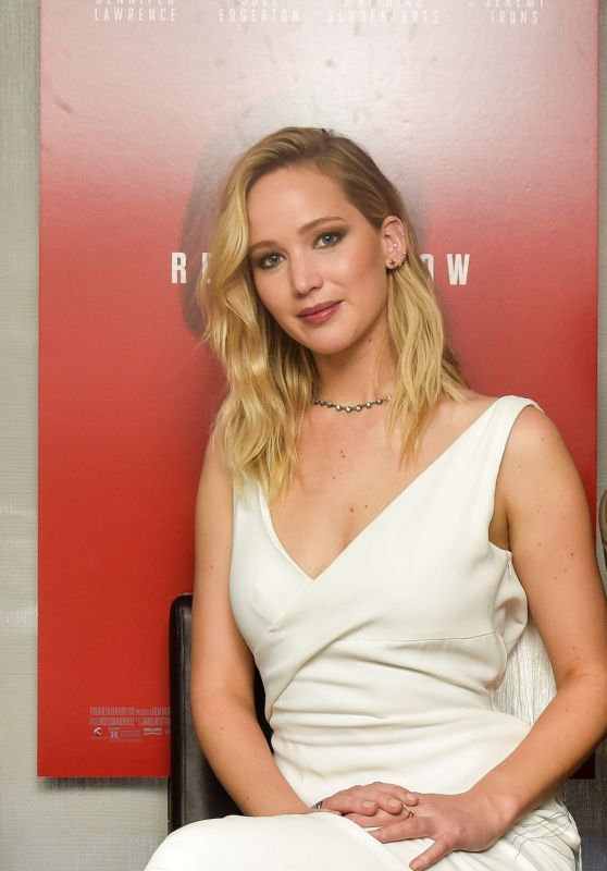 "Jennifer Lawrence - ""Red Sparrow"" Luncheon at Cafe Milano in Washington DC"