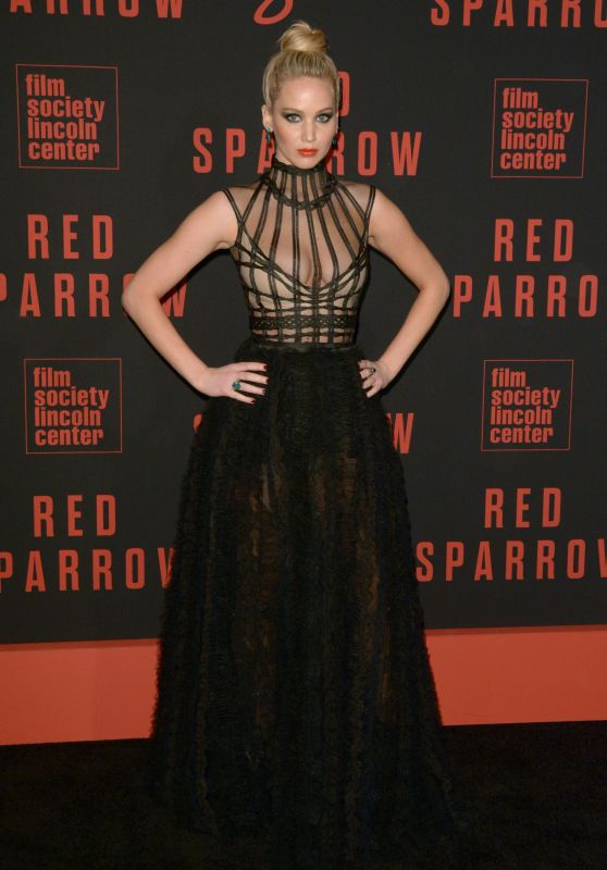 Jennifer Lawrence Quot Red Sparrow Quot Premiere In Nyc