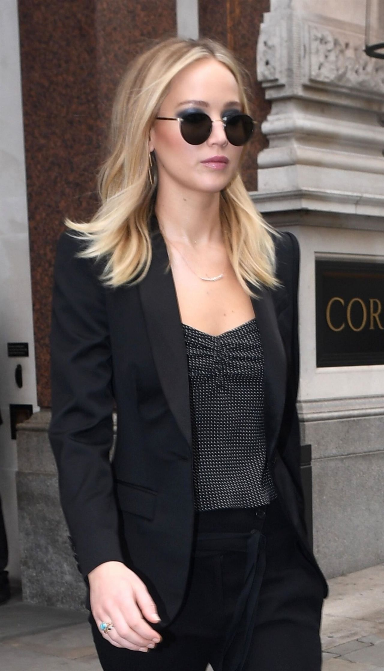 Jennifer Lawrence Style London 02202018