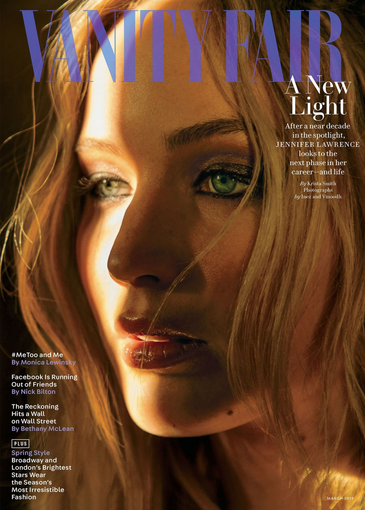 Post Malone 2019 >> Jennifer Lawrence - Vanity Fair Magazine March 2018 Photoshoot