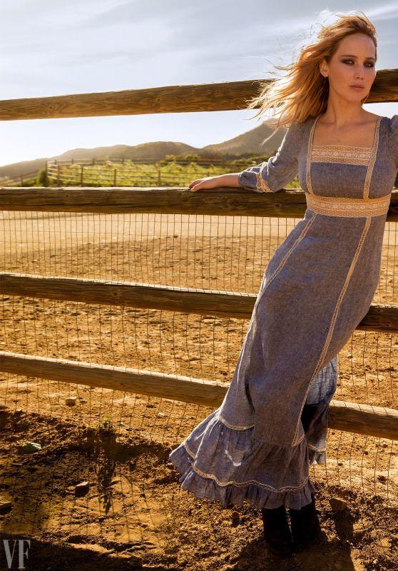 Jennifer Lawrence - Vanity Fair Magazine March 2018 Photoshoot