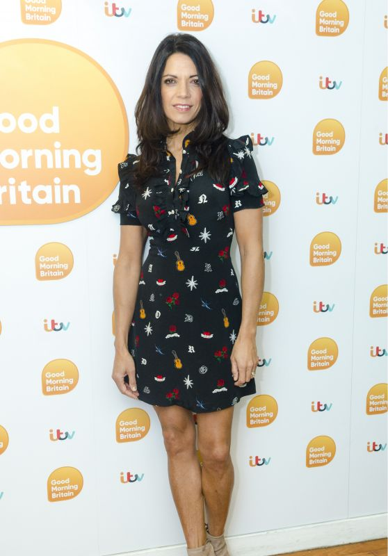 Jenny Powell – Good Morning Britain TV Show in London 02/01/2018