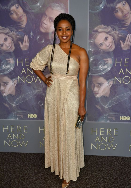 "Jerrika Hinton - ""Here and Now"" Premiere in LA"