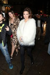Jess Impiazzi at the Celebrity Big Brother Wrap Party in London