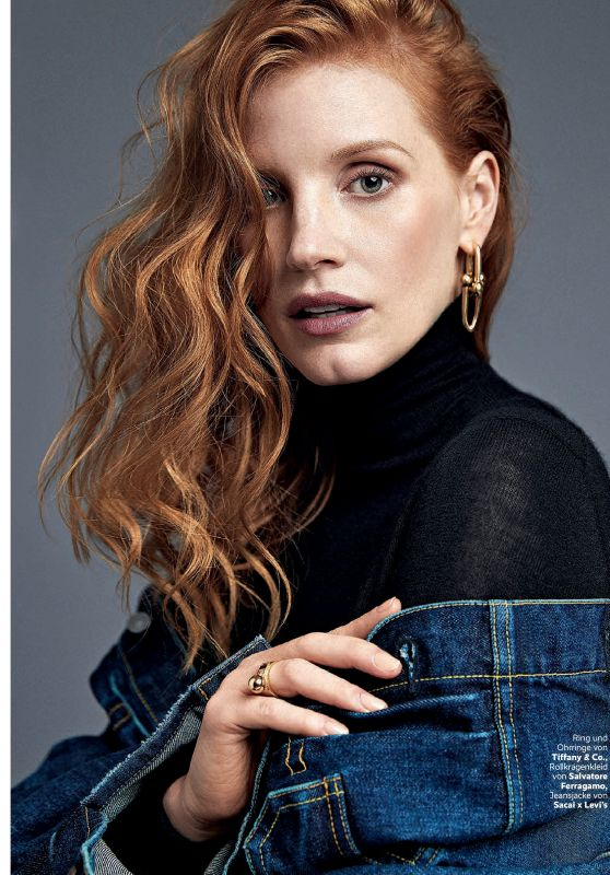 Jessica Chastain - Petra Magazine March 2018 Issue